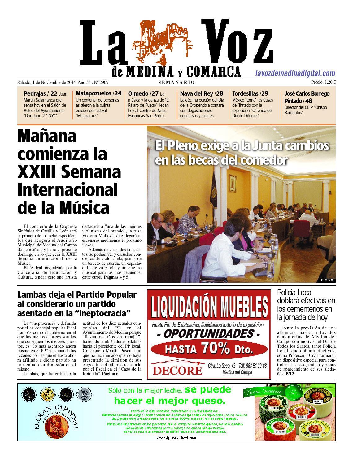 La Voz de Medina 141101 by La Voz de Medina - issuu