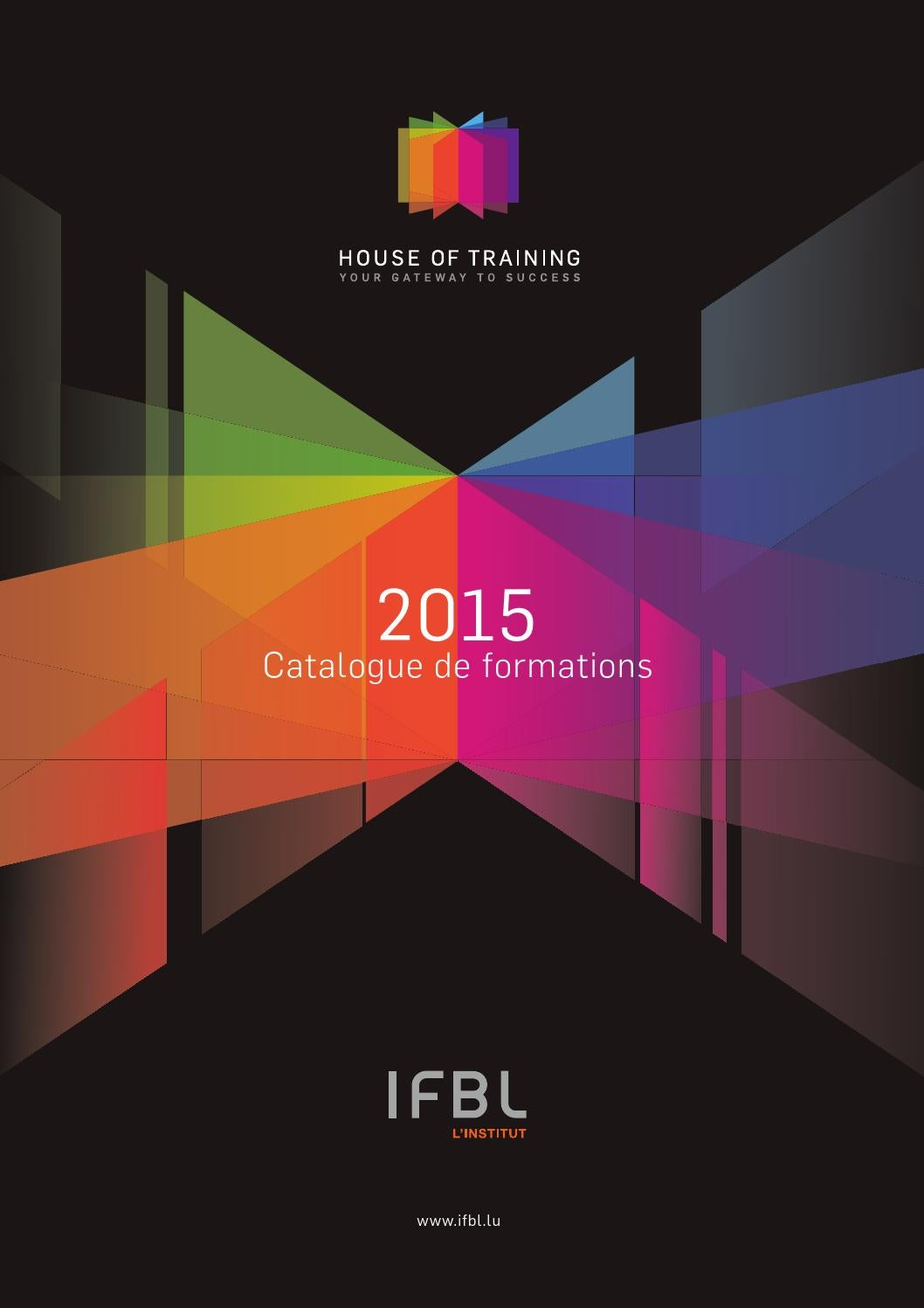 Formations 2015 by ifbl institut issuu for Chambre de commerce luxembourg formation