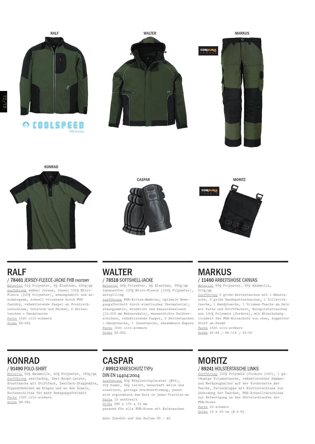 78518 Winddicht Alle Farben FHB WALTER Softshell-Jacke mit FHB-MEMBRAN