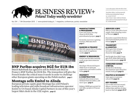 Poland Today Business Review No 014 By Poland Today