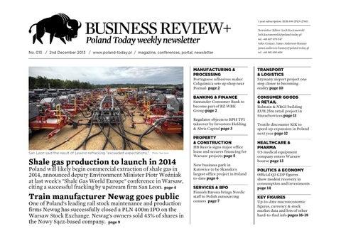 Poland Today Business Review No 013