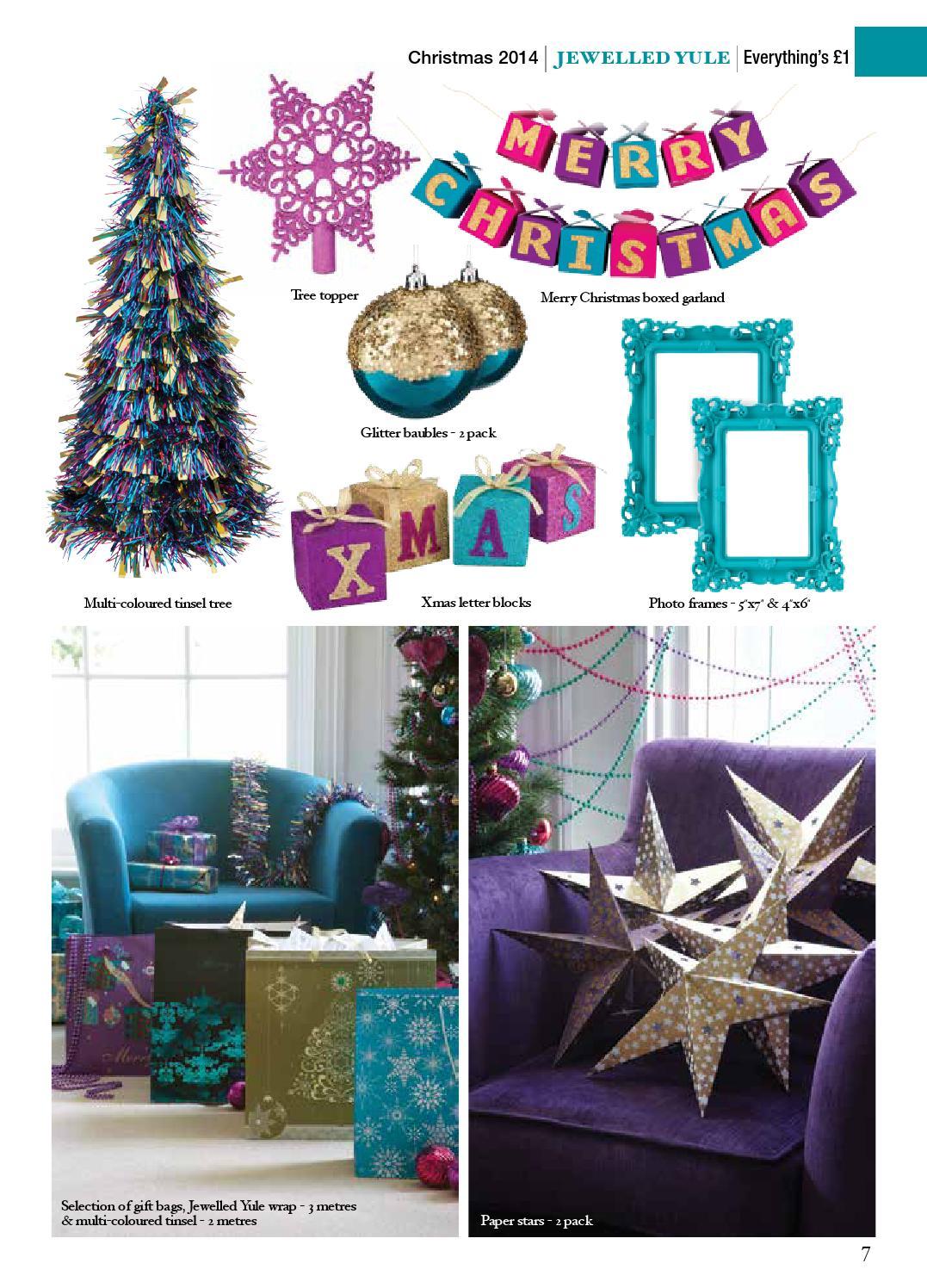 Poundland Christmas Lookbook 2014 by Poundland - issuu