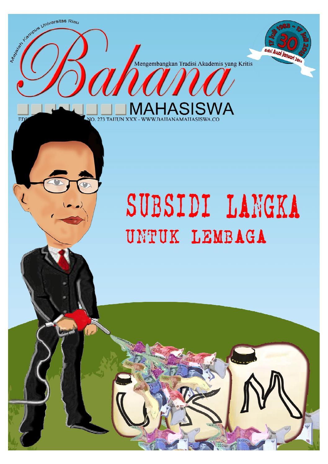 Edisi Awal Tahun 2014 Warna By Bahana Mahasiswa Issuu