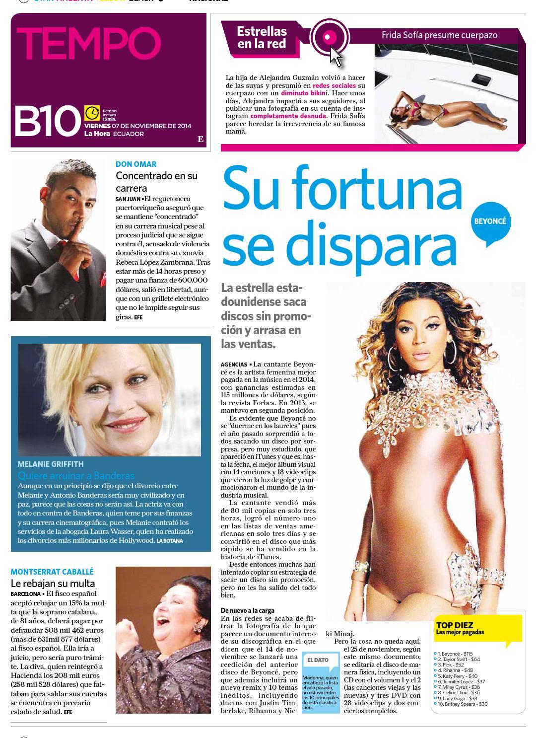 Cotopaxi 7 noviembre 2014 by Diario La Hora Ecuador - issuu bcef374c3d8e