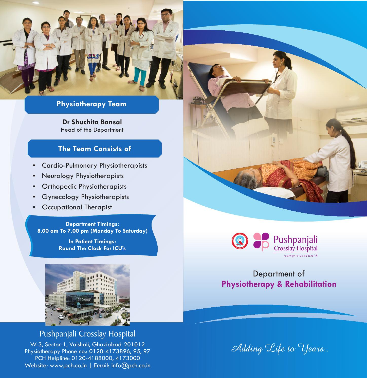 Physiotherapy by Pushpanjali Crosslay Hospital - issuu