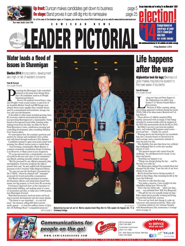 Cowichan News Leader Pictorial November 07 2014 By Black Press Issuu Richard 4847 Ttec Automotive Electronics