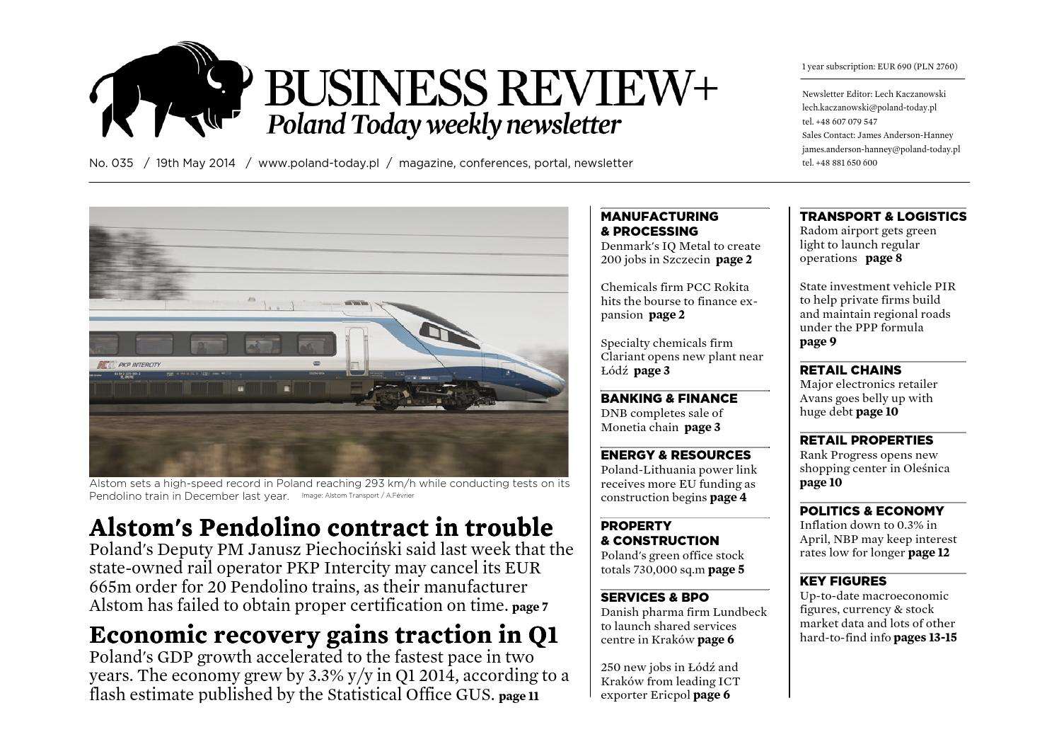 Poland Today Business Review No 035 By Poland Today