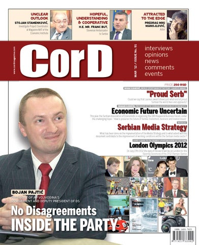 CorD Magazine No 91 by CorD Magazine - issuu