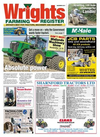 Wrights Farming Register - November 2014 - FULL ISSUE