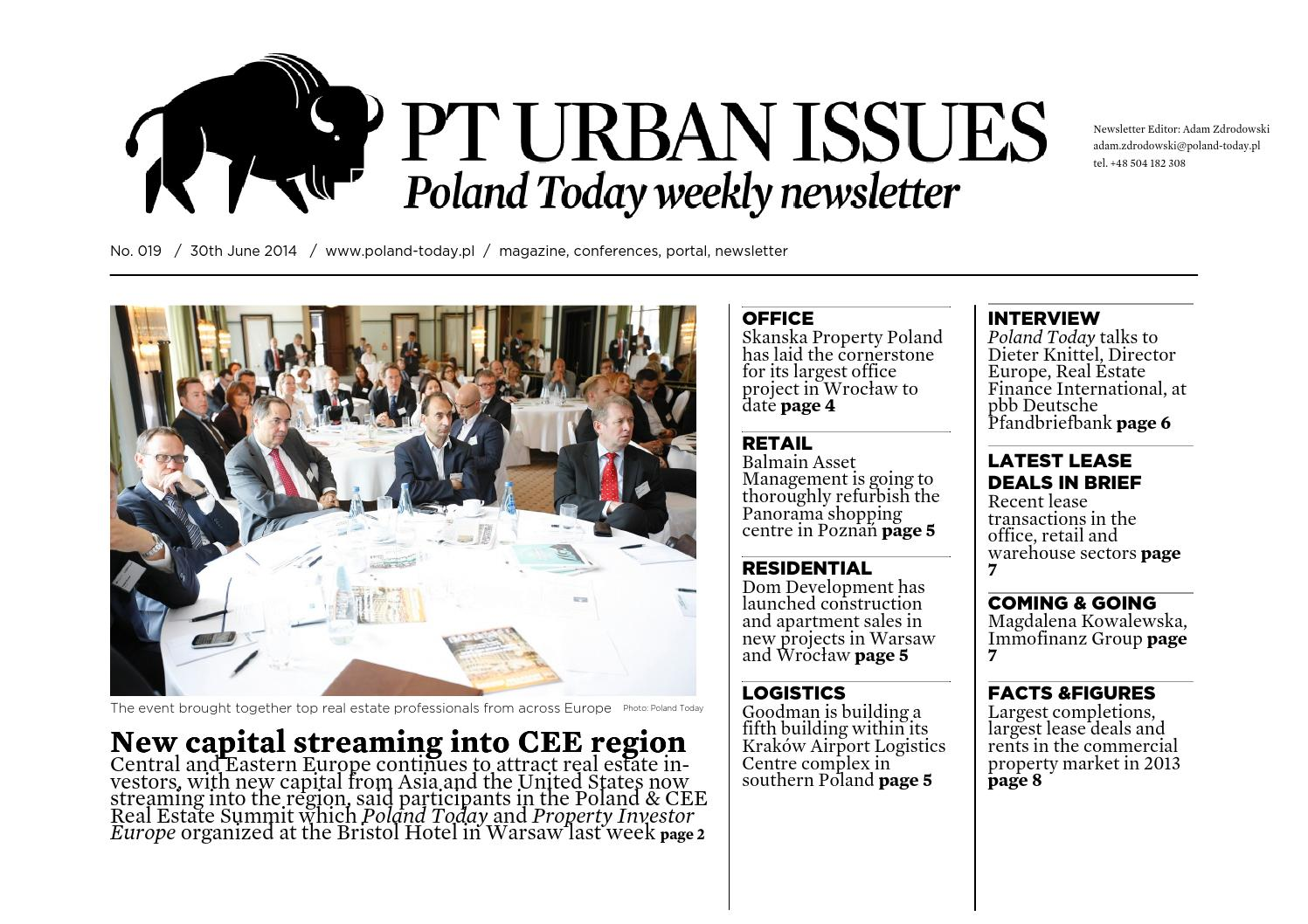 Pt Urban Issues No 019 By Poland Today Urban Issues Issuu