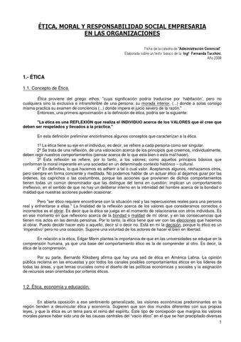 16 Etica Moral Y Rse By Matias Perez Issuu