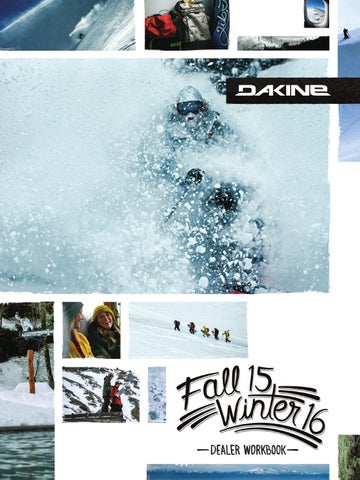 16W Dakine Workbook EU by Dakine issuu