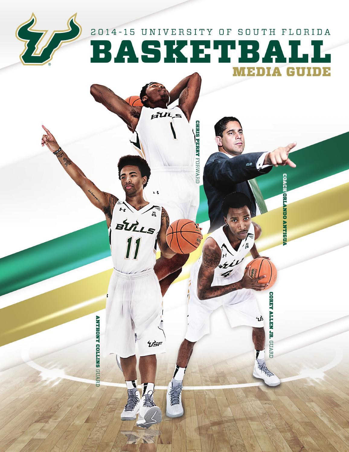 2014-15 USF Men s Basketball Media Guide by USF Bulls - issuu 2ec5b815d
