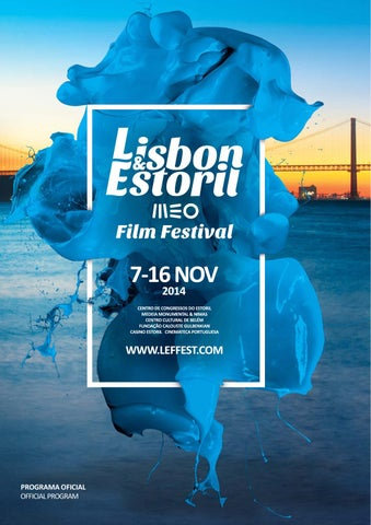 Catálogo Lisbon   Estoril Film Festival 2014 by Lisbon   Estoril ... 6ddaae2b8d