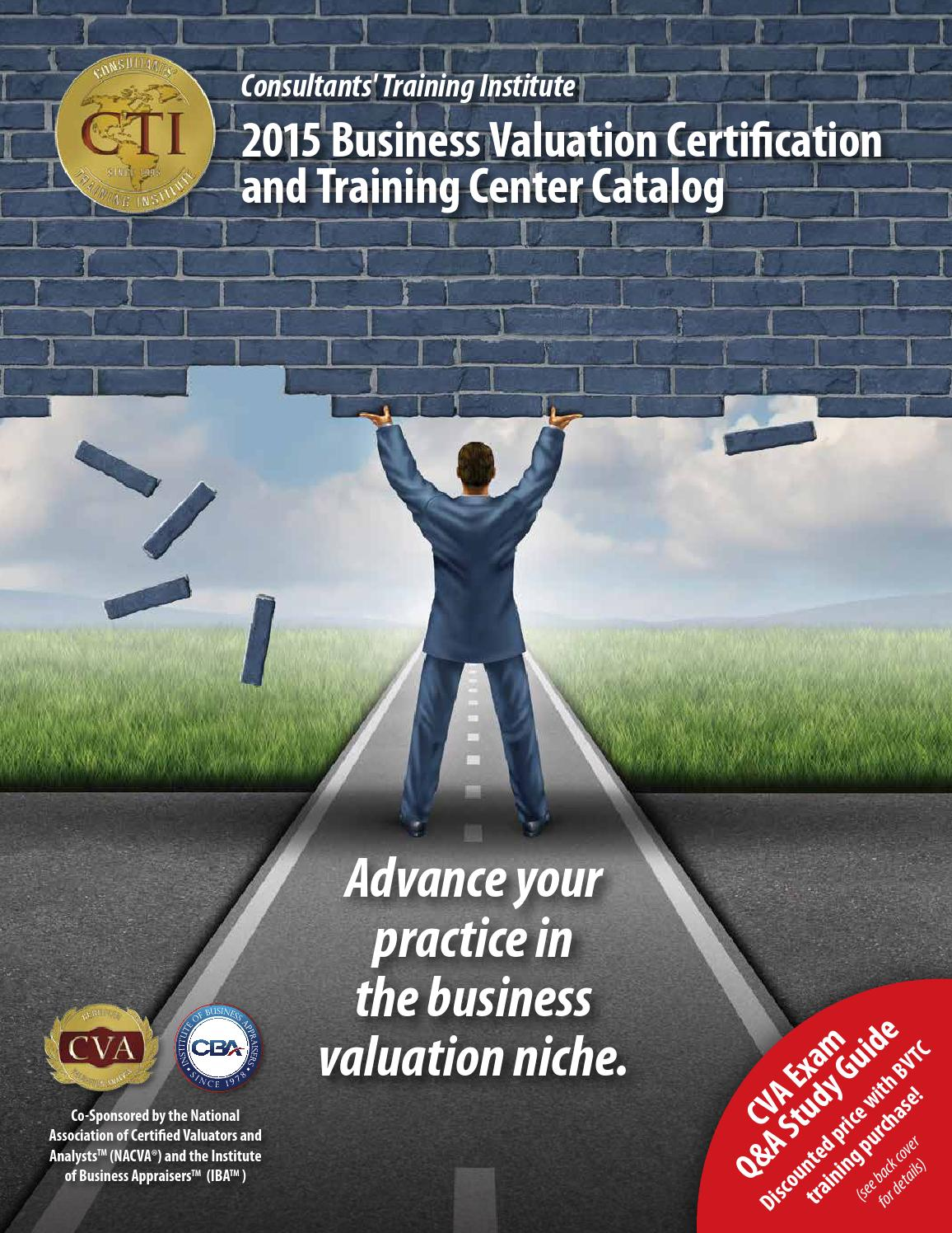 2015 business valuation certification and training center catalog 2015 business valuation certification and training center catalog by national association of certified valuators and analysts issuu 1betcityfo Choice Image