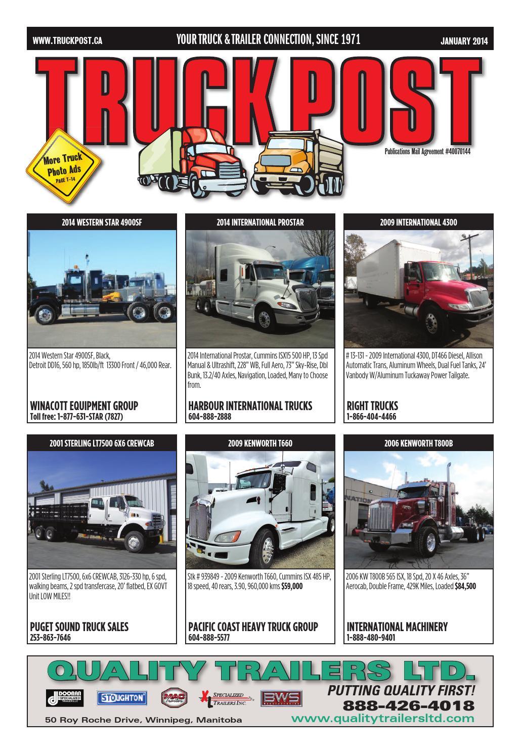 Truck Post Jan 2014
