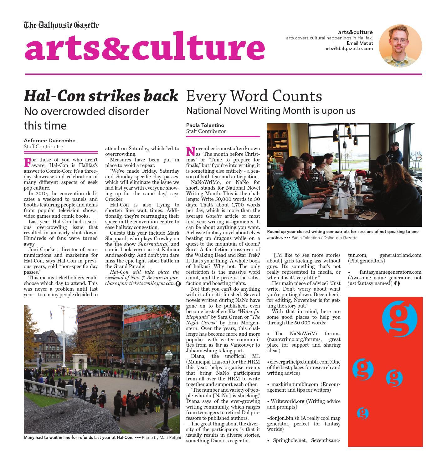 The Dalhousie Gazette Issue 147-10 by Dalhousie Gazette - issuu
