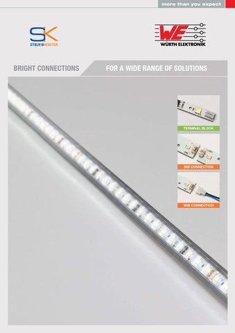 Würth Elektronik Stelvio Kontek - LED connectors by