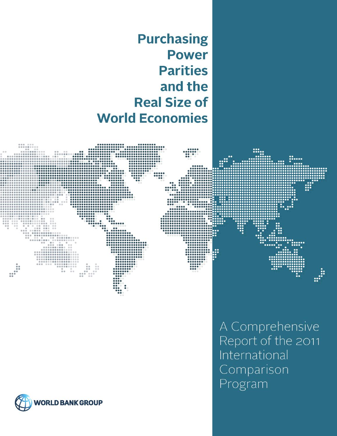 Purchasing power parities and the real size of world economies by purchasing power parities and the real size of world economies by world bank publications issuu fandeluxe Images