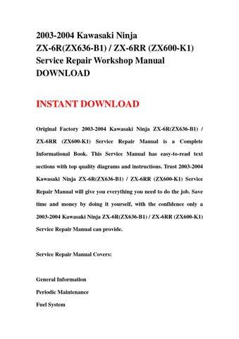 Kawasaki Fdd As Engine Repair Manual
