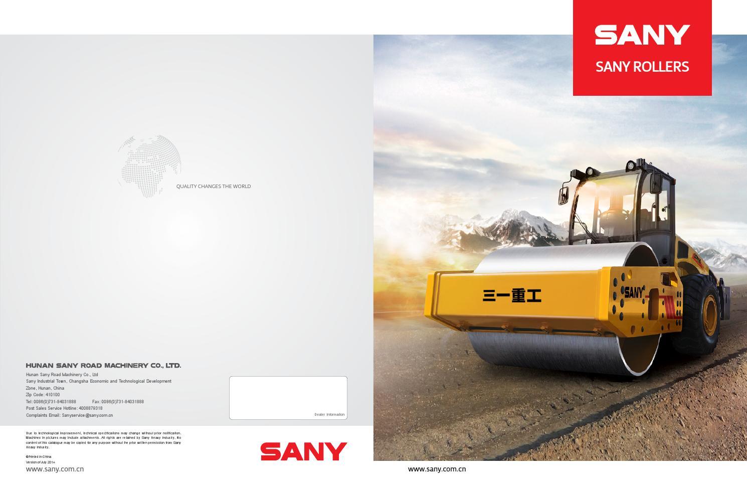 Sany cat logo compactadoras 2015 by jorge rodriguez sibaja issuu - Fax caser bajas ...