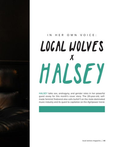 Page 41 of In Her Own Voice: Halsey