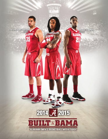 2014-15 Men's Basketball Media Guide by Alabama Crimson Tide - issuu