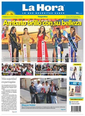 Ambato09noviembre2014 by Diario La Hora Ecuador - issuu b029e5a8c44a