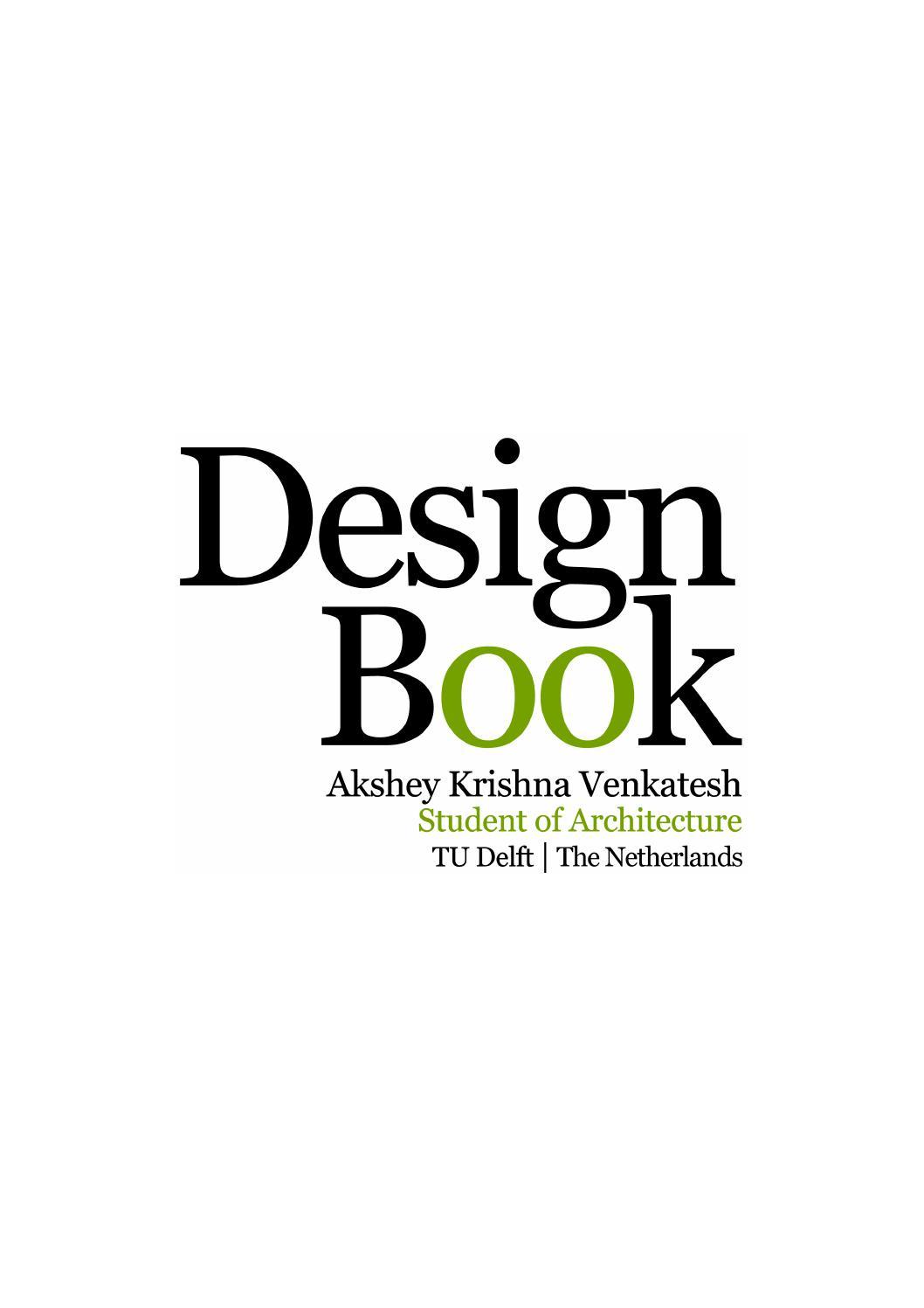 architecture portfolio of akshey krishna venkatesh by