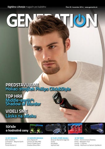 9d9b98d099c8 Generation magazín  035 by Generation magazine - issuu