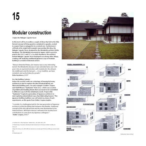 Wonderful 15 Modular Construction Origins The Nakagin Capsule Tower In This Text I  Will Try To Outline A Couple Of Ideas That Led To The Fully Formed Concept  Of ...