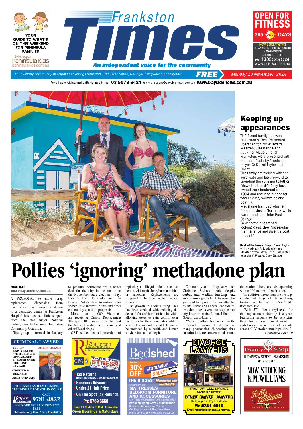 c549131db2 10th November 2014 by Mornington Peninsula News Group - issuu