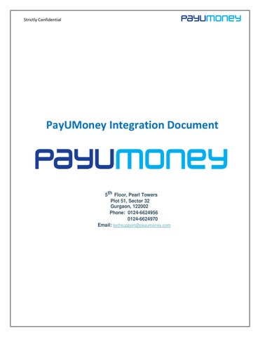 Payumoney technical integration document by adinor sombad - issuu