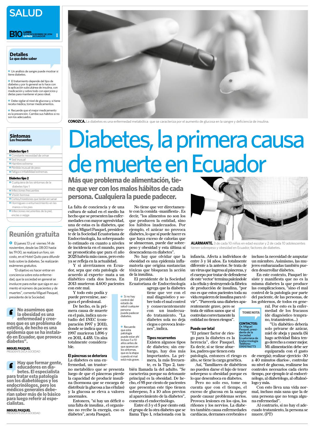síntomas de diabetes en manos y pies