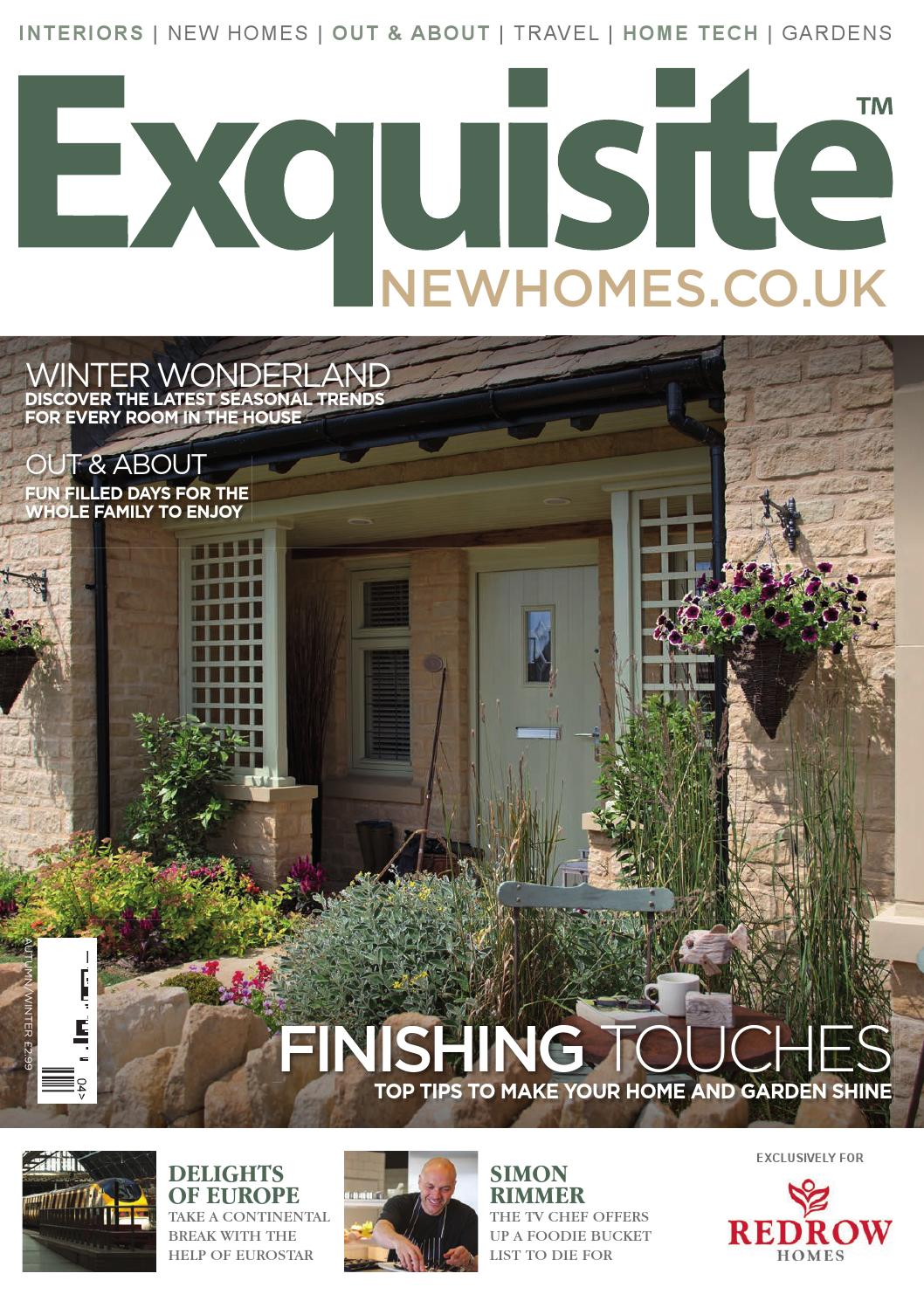 Exquisite New Homes Redrow Homes November 2014 By One Media Issuu