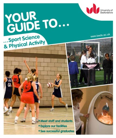 5347be9a726 Sport Science   Physical Education Subject Guide 2015 by University ...