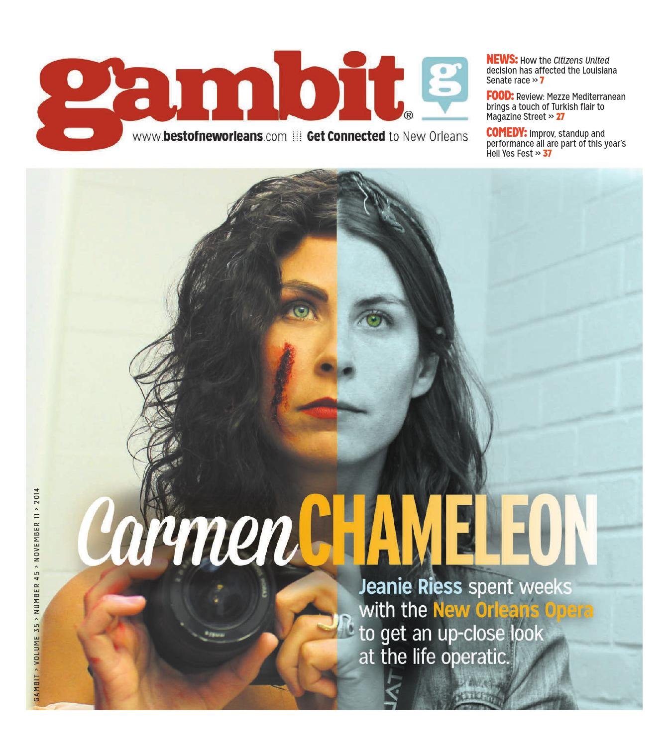 Gambit New Orleans November 11, 2014 by Gambit New Orleans - issuu