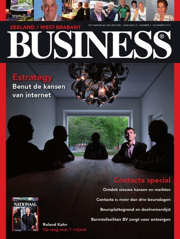 Zb Contacta Special By Zeeland Business Issuu