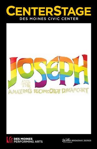 Dmpa Joseph And The Amazing Technicolor Dreamcoat Program