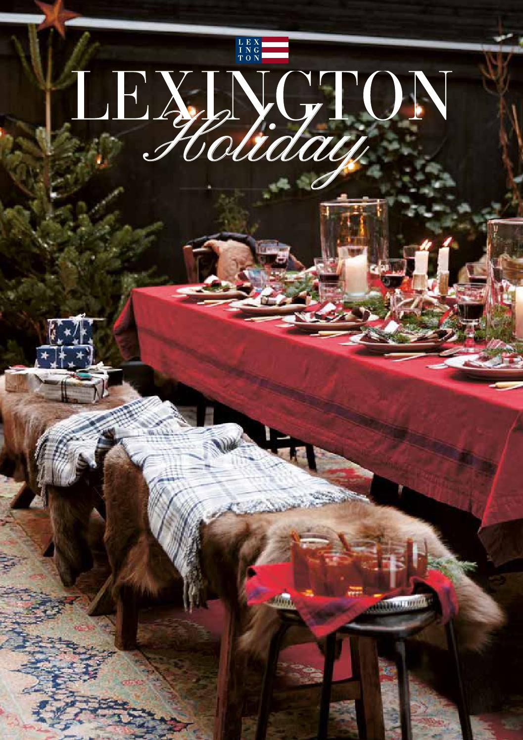 lexington company holiday 2014 by lexington company issuu. Black Bedroom Furniture Sets. Home Design Ideas