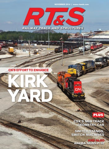 RT&S November 2014 by Railway Track & Structures - issuu