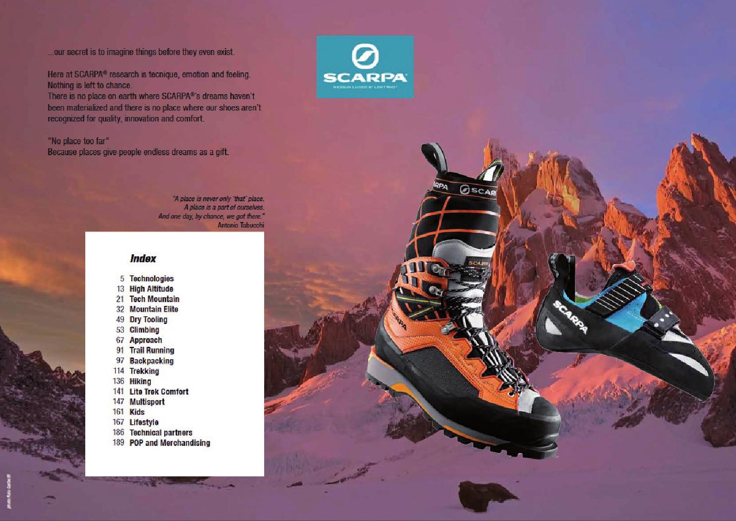 España Montaña 2014 Catálogo Distribuciones I By Scarpa gIPqnPwxZa