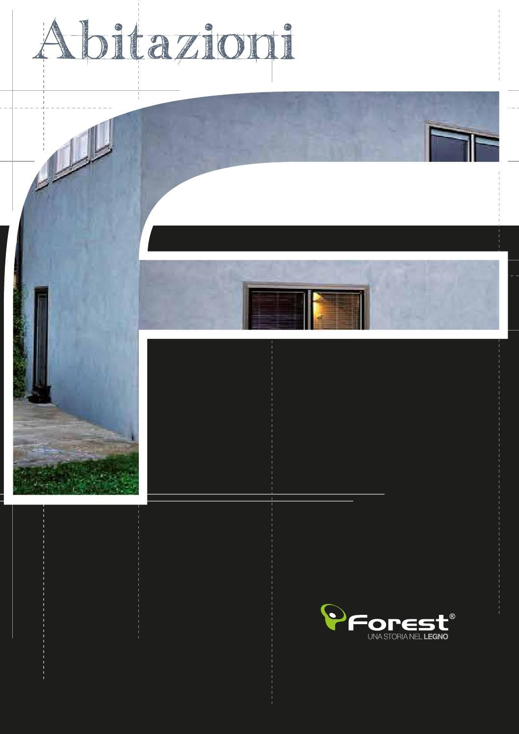 Gruppo forest catalogo abitazioni 2014 by massimo for Gruppo forest