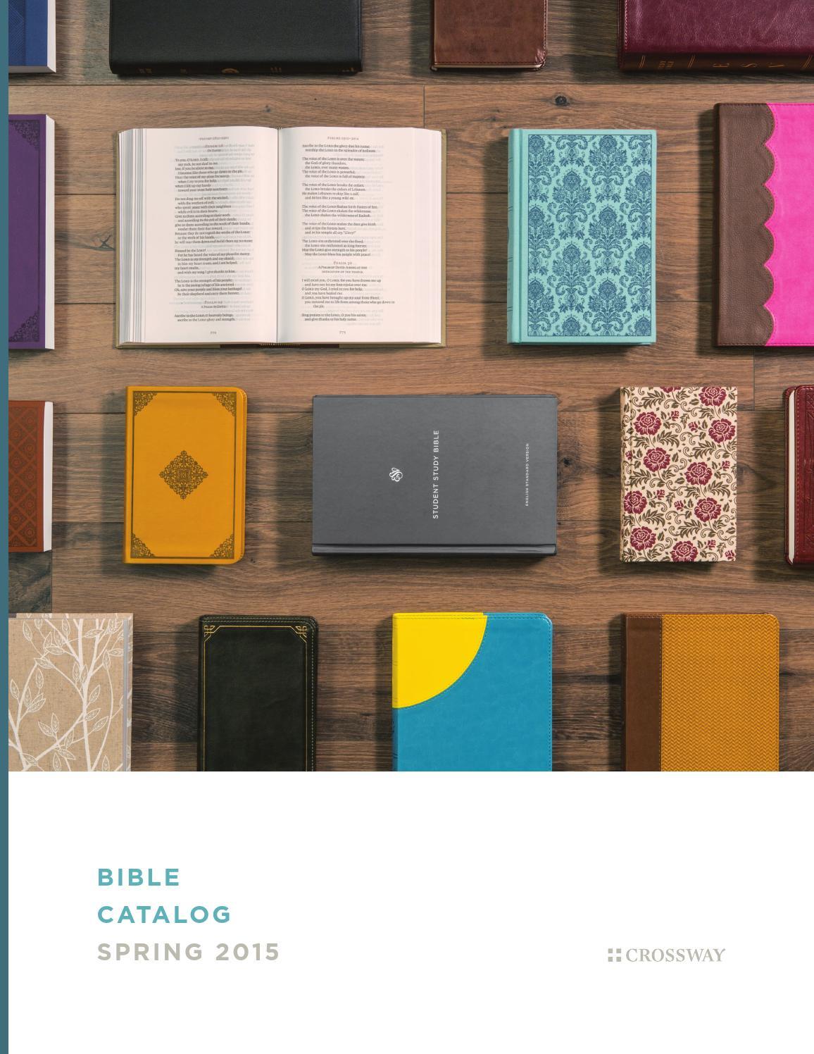 ESV Spring 2015 Bible Catalog by Crossway - issuu