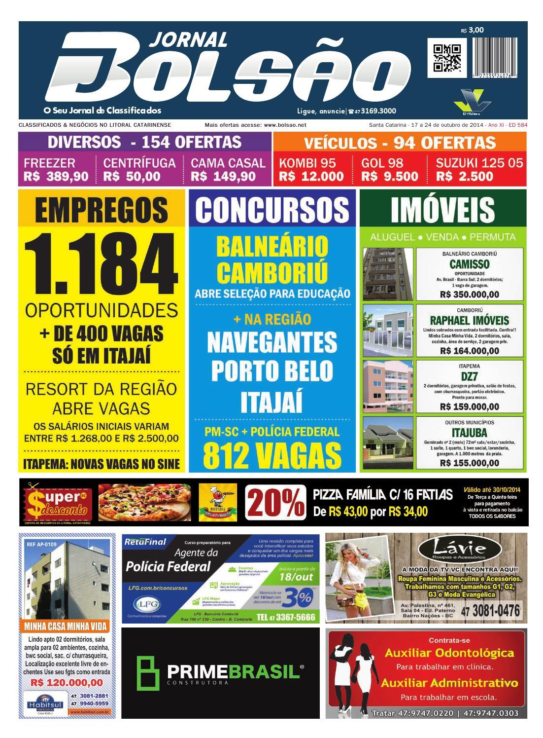 584 by Bolsão Jornal - issuu 0913e8b641213