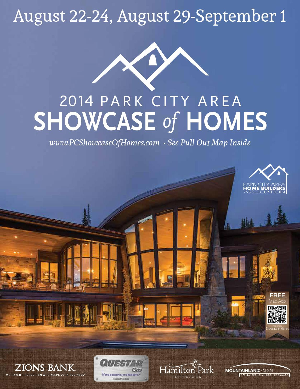 2014 Park City Area Showcase Of Homes By Utah Media Group