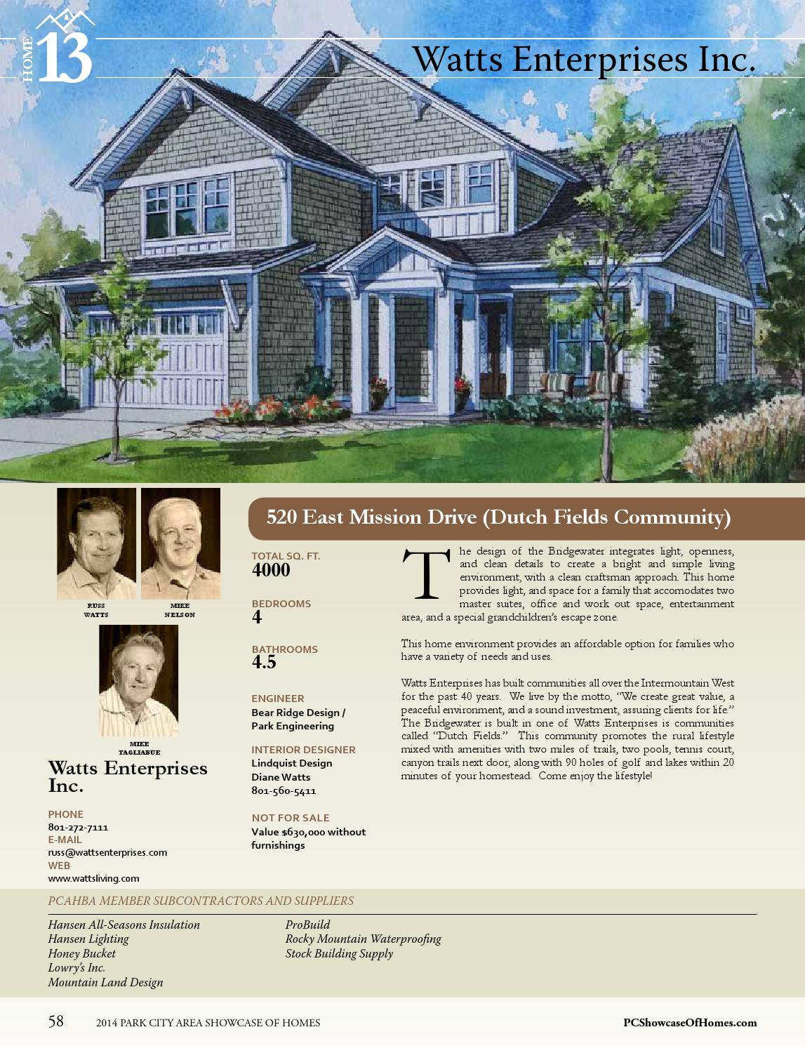 2014 Park City Area Showcase of Homes by Utah Media Group - issuu
