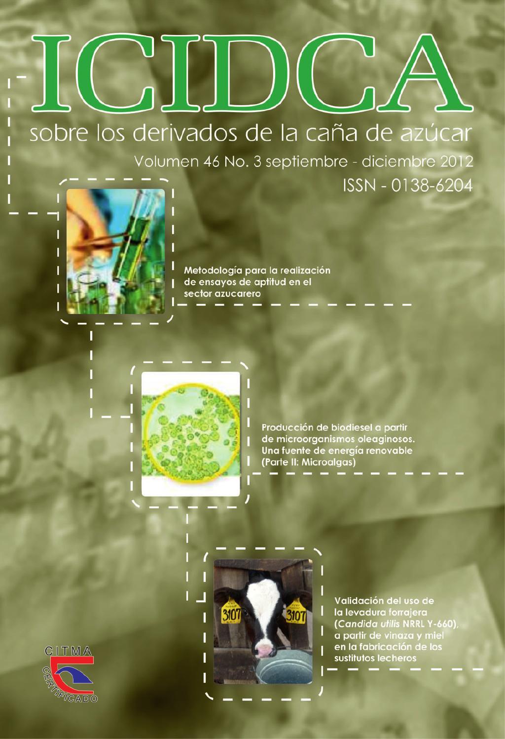Revista icidca vol 46 no3 2012 by Revista ICIDCA - issuu