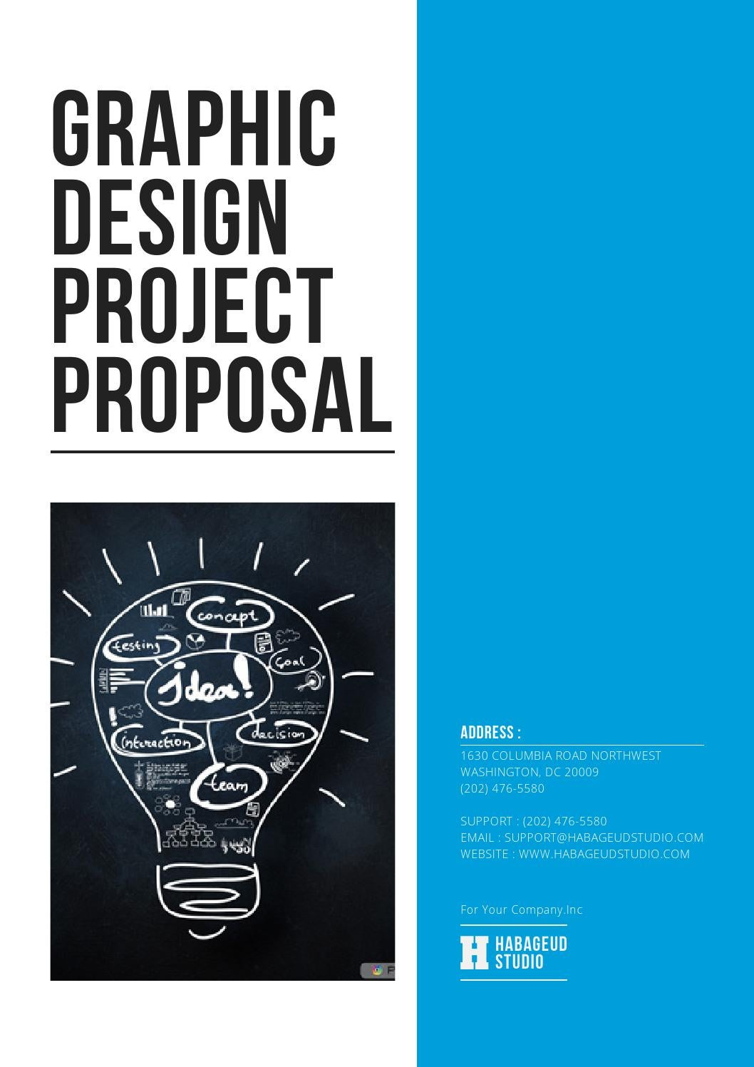 Graphic Design Project Proposal By Habageud