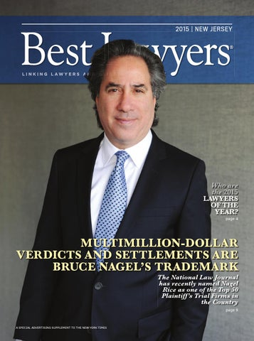 Best Lawyers In New Jersey 2015 By Best Lawyers - Issuu